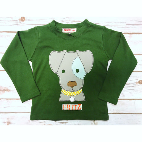 Patches Puppy Tee