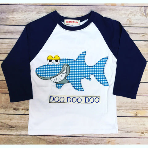 ***NEW***Baby Shark Raglan Tee