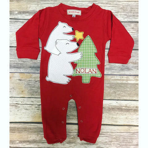 Christmas Bears Romper