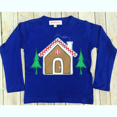 Gingerbread House Tee