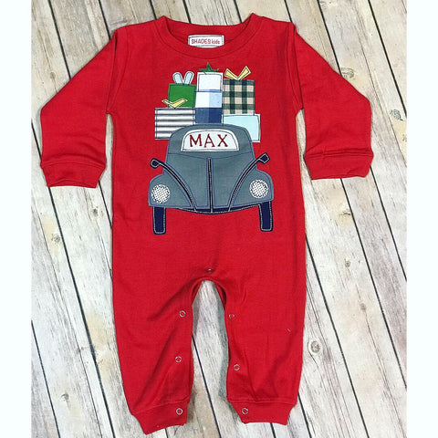 Holiday Car Romper