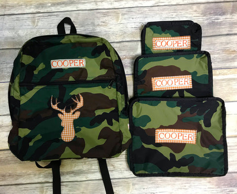 Camo Luggage Collection