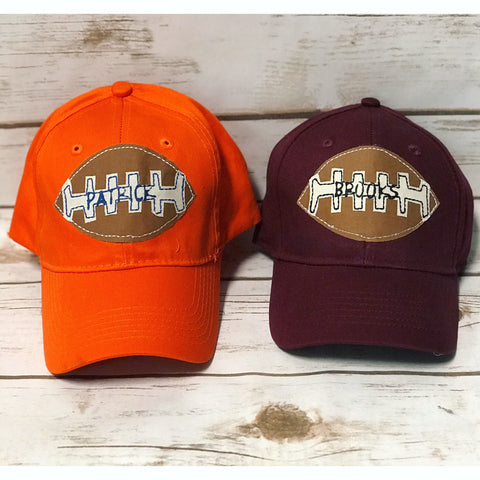 Personalized Football Hat (Youth)