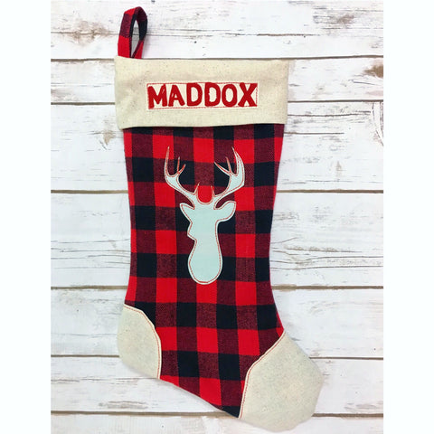 **NEW** Christmas Buck Stocking