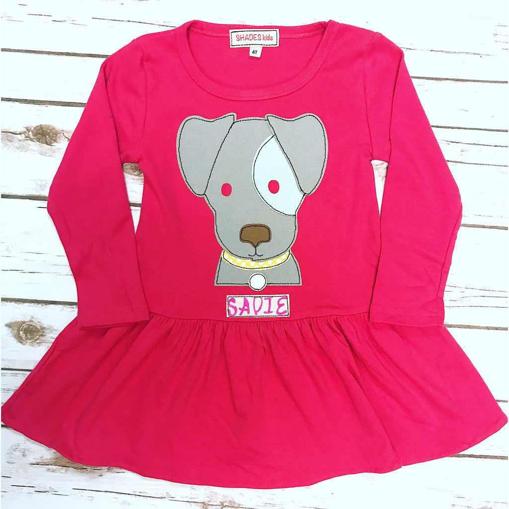 Patches Puppy Dress