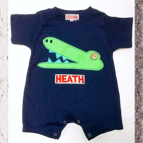 Alligator Romper