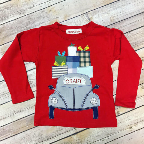 Holiday Car Tee