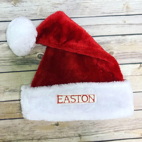 *NEW* Personalized Youth Santa Hat