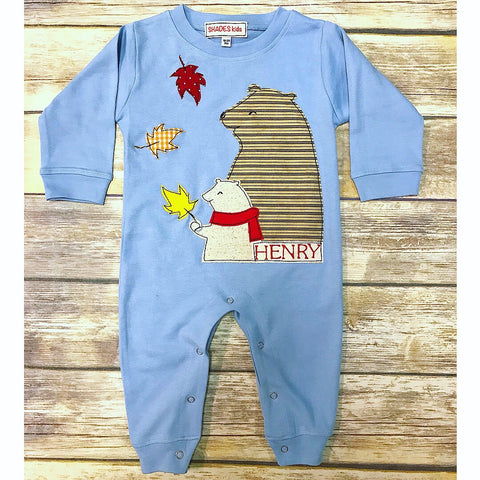 Autumn Buddies Romper