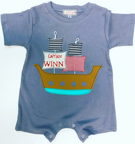 Pirate Ship Romper