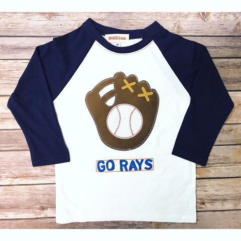 ***NEW*** Baseball Glove Tee (Blue)