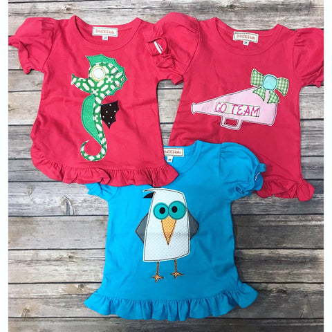 *NEW* 2T Ruffle Tees