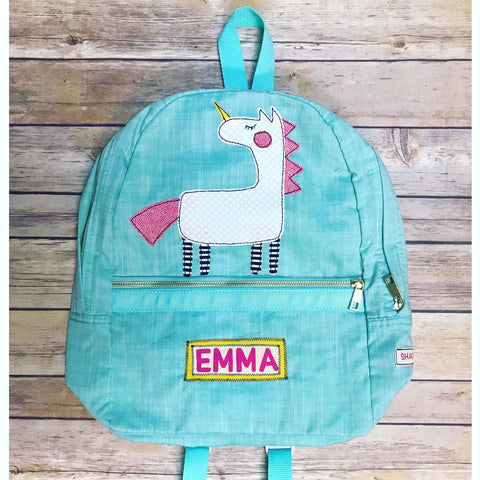 **NEW** Chambray Unicorn Luggage Collection