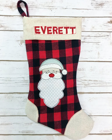 **NEW** Christmas Santa Stocking
