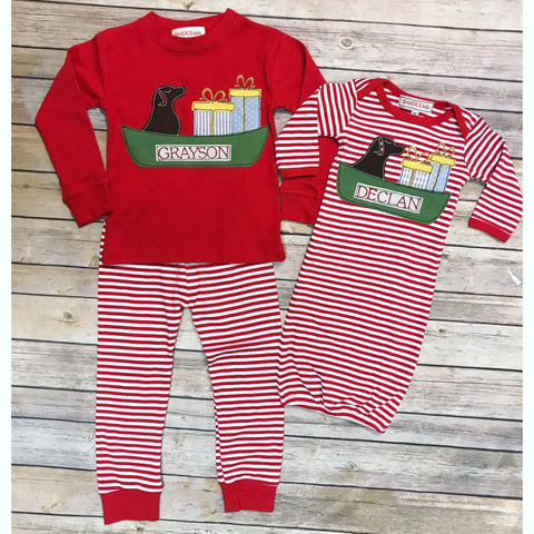 Christmas Infant Gown