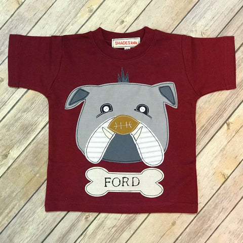 Bulldog Head Tee