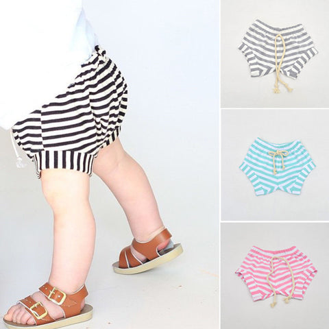 *CLEARANCE* Striped Shorties