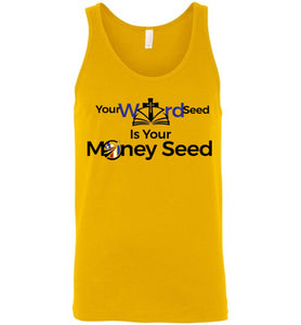 #WordSeed | Canvas Unisex Tank