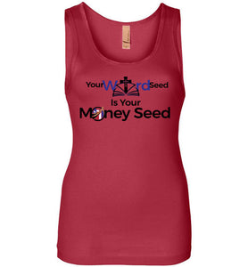 #WordSeed | Next Level Womens Jersey Tank