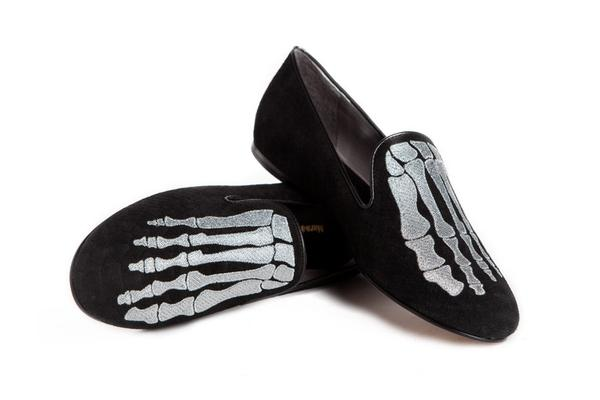 Mara & Mine Jem Skull Slipper- 8.5