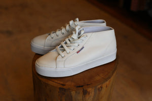 Superga High Top Leather Sneakers - Size 40