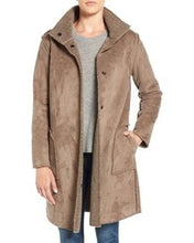 Load image into Gallery viewer, Velvet by Graham & Sepncer Reversible Shearling Coat - Size L