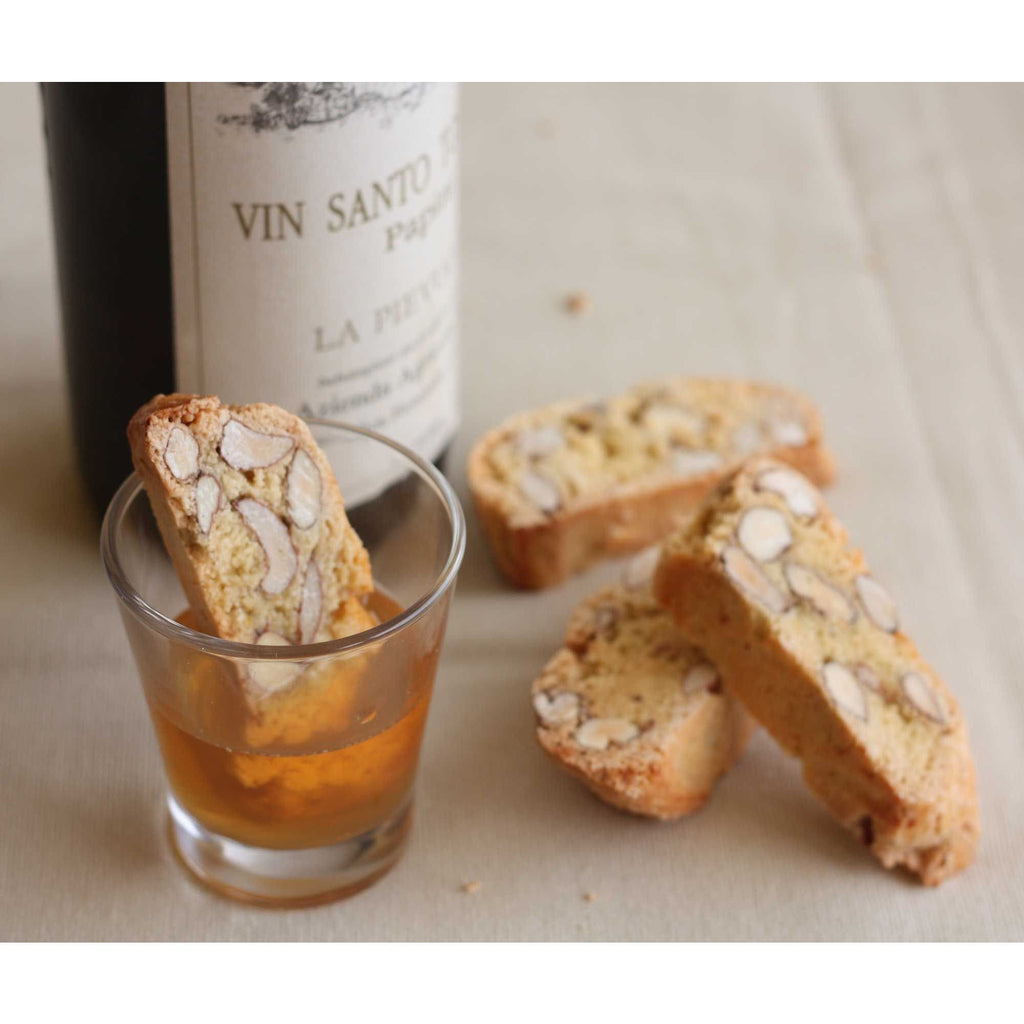 Cantuccini Biscuits dipped in Vin Santo Wine