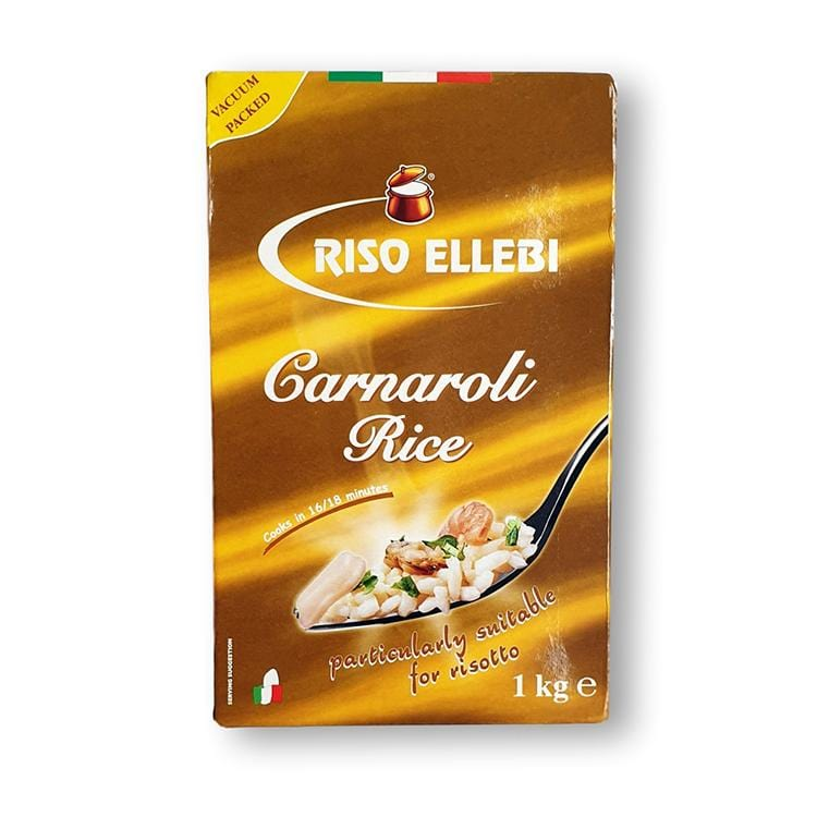 pack of Carnaroli rice Ellebi