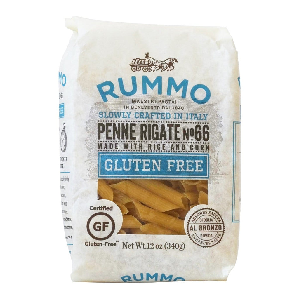 one pack of penne rigate gluten free rummo large