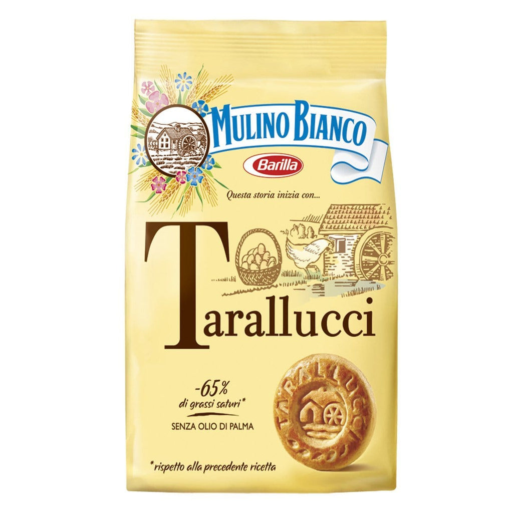 One pack of biscuits tarallucci mulino bianco