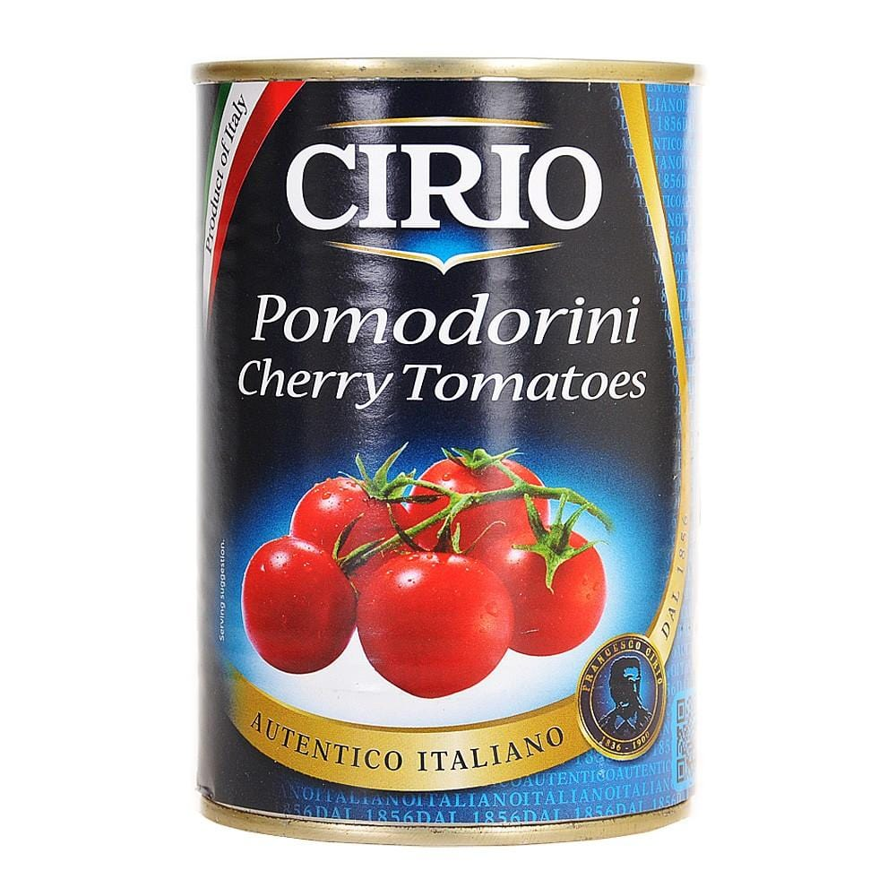 one jar of cherry tomatoes cirio