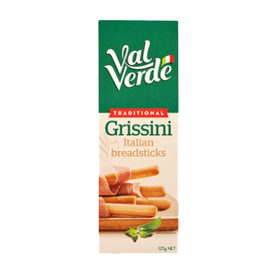 pack of breadstick grissini classic olive oil val verde