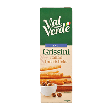 pack of breadstick grissini salt val verde