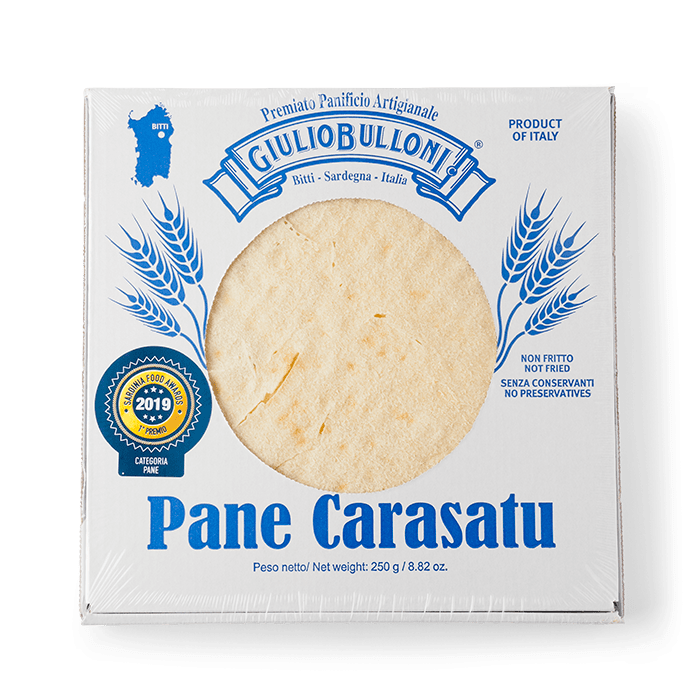 pack of carasau bread giulio bulloni