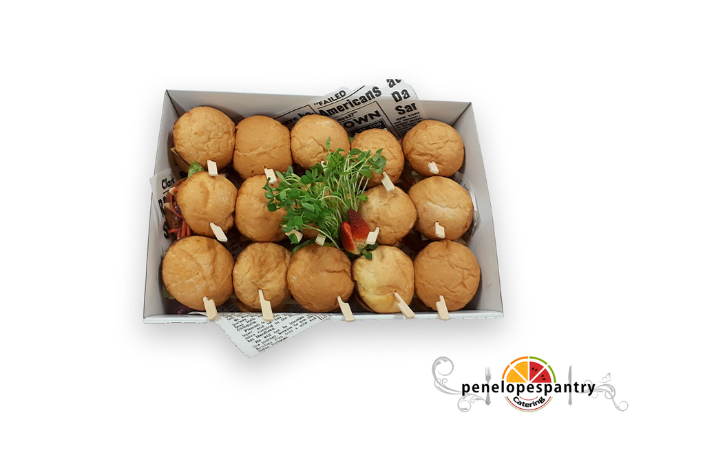 Medium Mini Sliders Assorted Platter