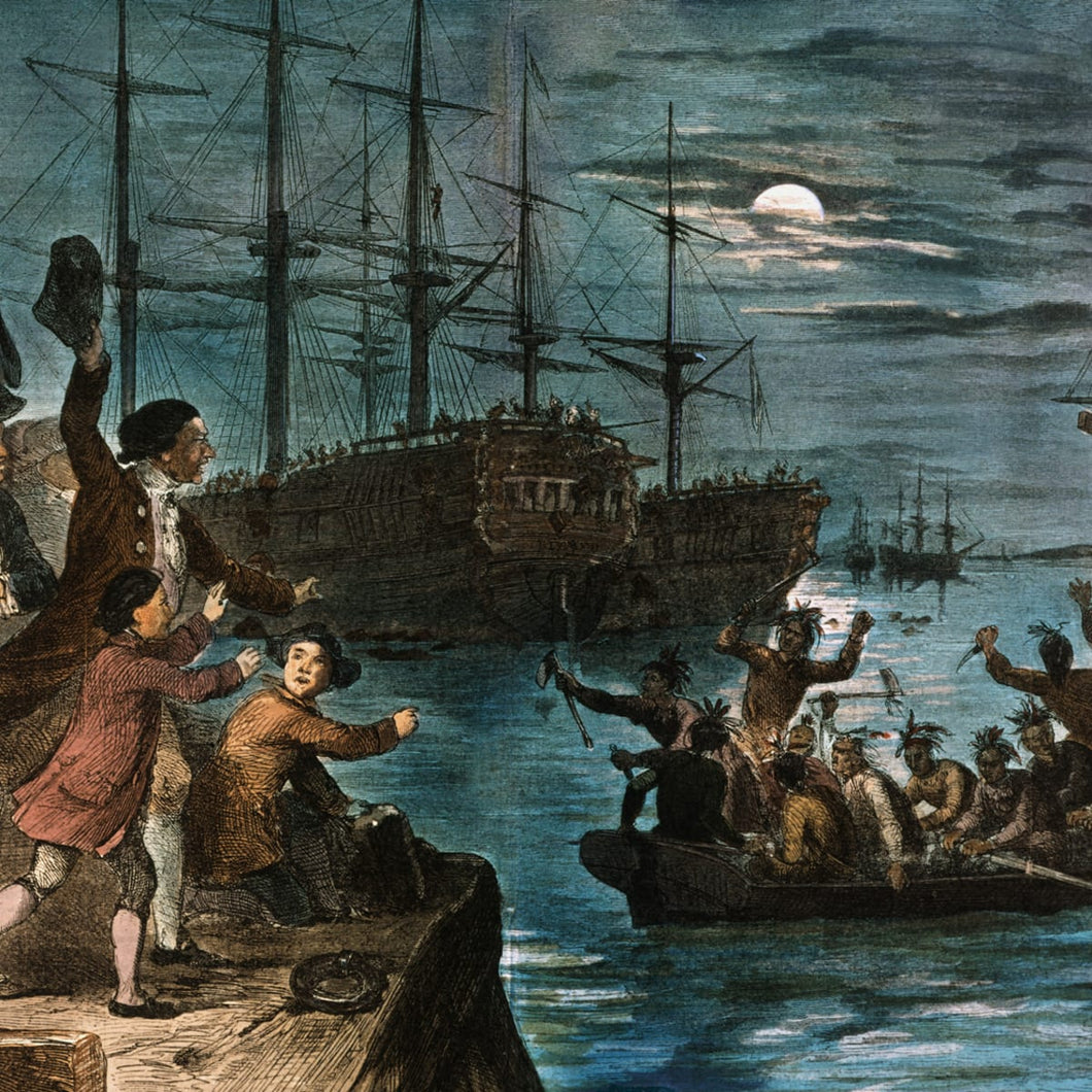 TEA TALKS: The Boston Tea Party Story DECEMBER 8th, 2021