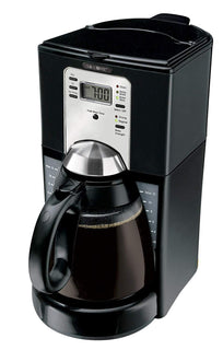 Mr. Coffee FTX43-2 12-Cup Programmable Coffeemaker, Black