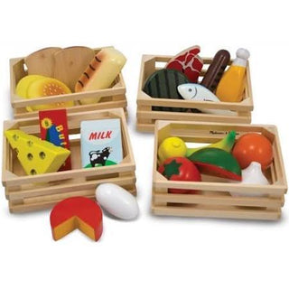 Melissa & Doug 21 Piece Food Groups Play Set
