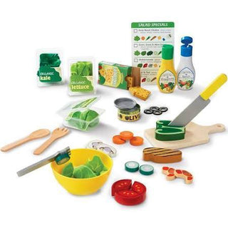 Melissa & Doug Slice and Toss Salad Play Food Set
