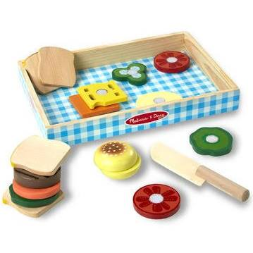 More by Melissa & Doug 17 Piece Sandwich Making Play Set