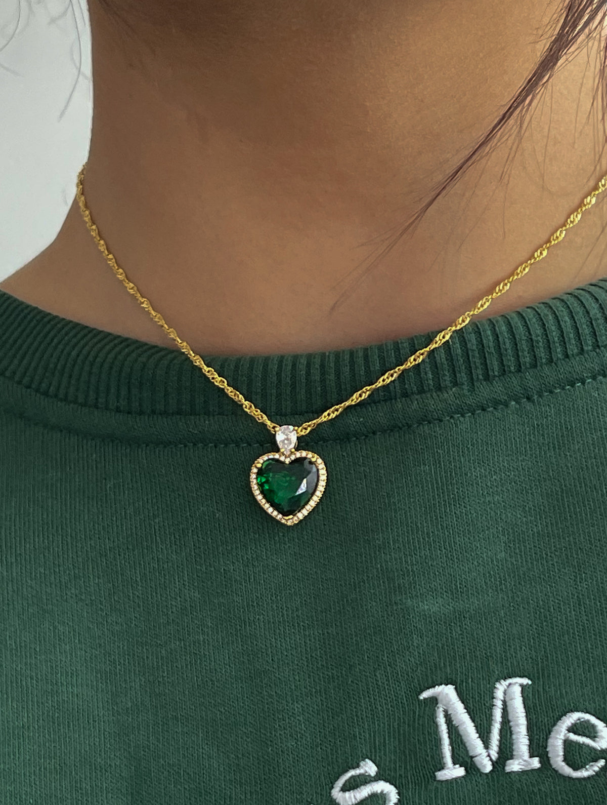 BLAIR HEART NECKLACE