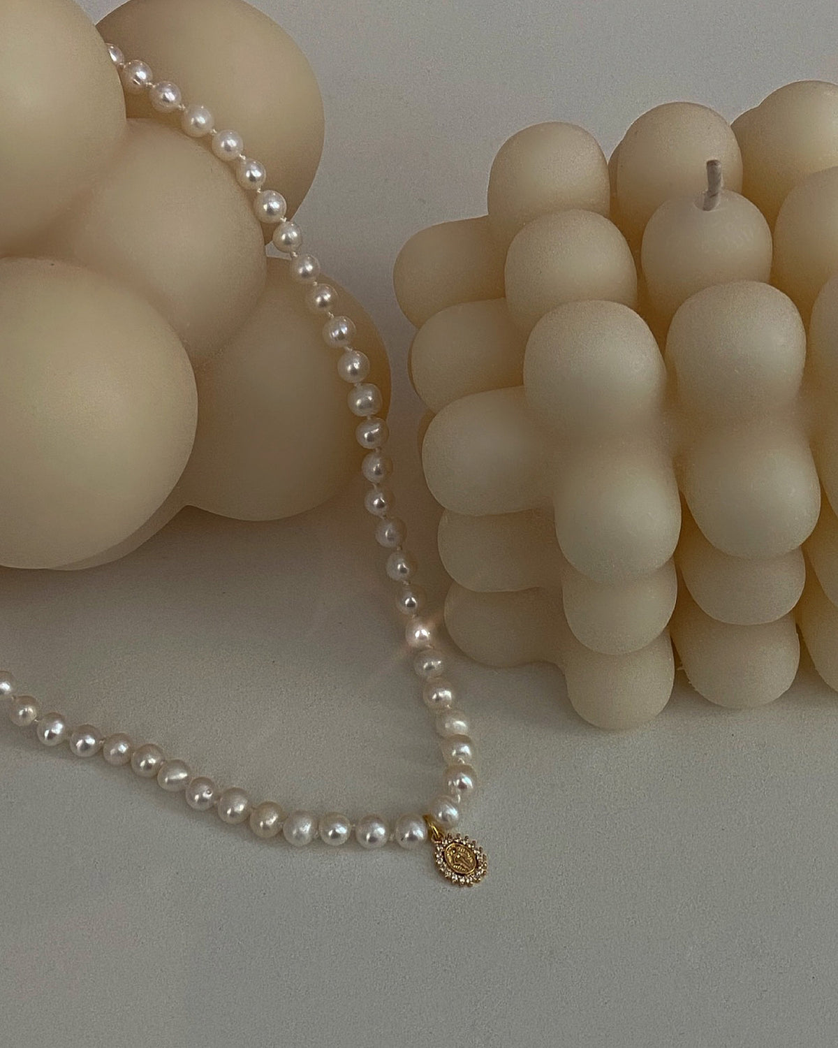 BAMBI FRESHWATER PEARL NECKLACE