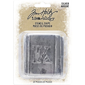 Tim Holtz Idea-ology - Christmas Stencil Chips