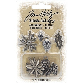 Tim Holtz Idea-ology - Festive Adornments