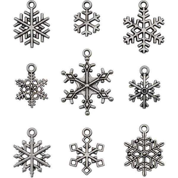 Tim Holtz Idea-ology - Snowflake Adornments