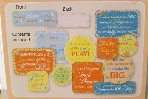 Cloud 9 Sunrise Smoothie Quote Cards