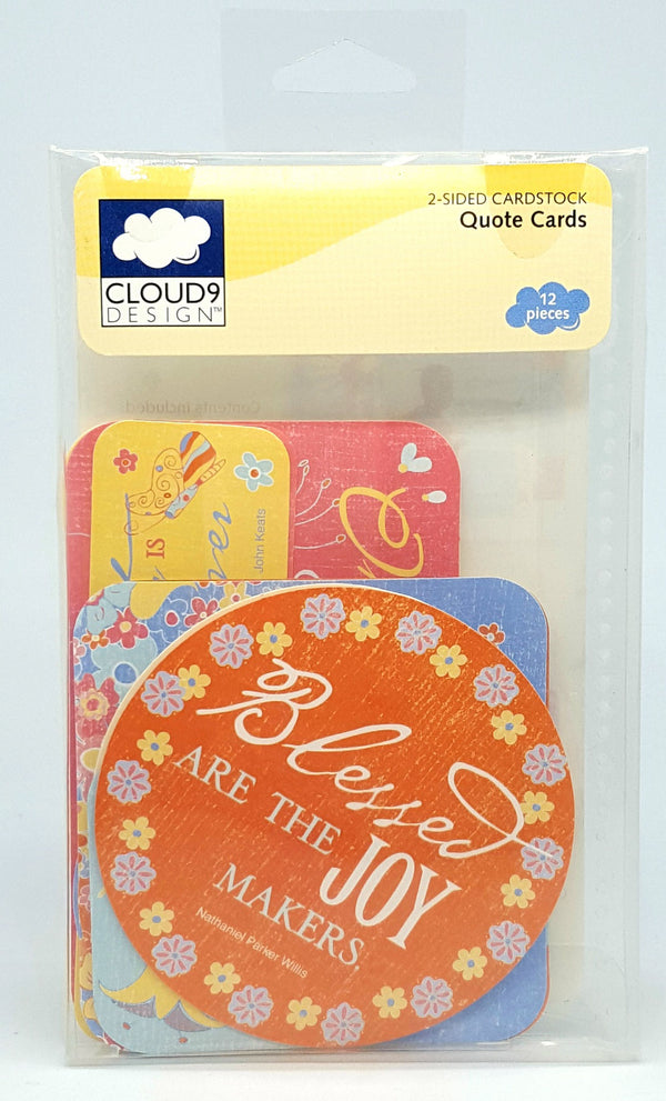 Cloud 9 Bay Blossoms Quote Cards