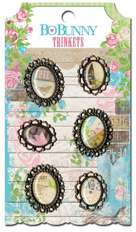 Bo Bunny Prairie Chic Collection - Trinkets