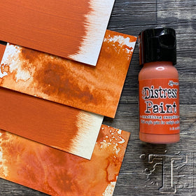 Tim Holtz Distress Paint - Crackling Campfire