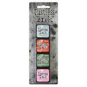 Tim Holtz Mini Distress Ink Pads - Set 16